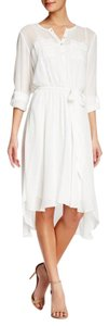 Nanette Lepore short dress Ivory on Tradesy