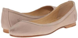 Frye Carson Ballet Leather Cement Flats