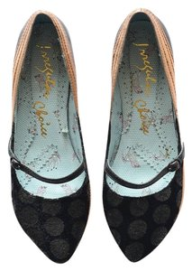 Irregular Choice Black Flats