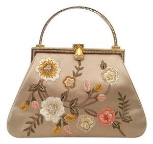 Judith Leiber Wristlet in Flower, Beaded