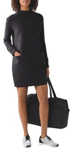 Lululemon short dress Black City Bound on Tradesy