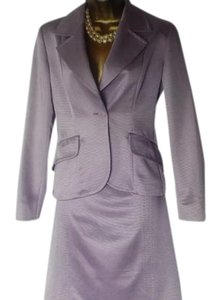 Max Mara Max Mara Pale Lilac Pencil Skirt and fitted blazer suit was