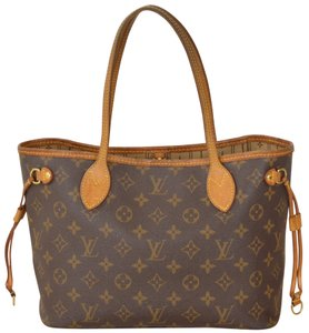 Louis Vuitton Monogram Shopper Tote in Brown