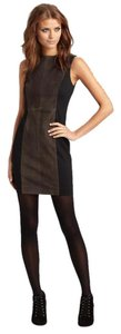 Rag & Bone Suede Edgy Chic Sheath Fitted Dress