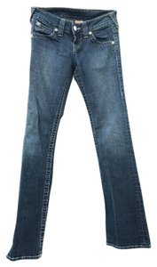 True Religion Twisted Seams Classic Boot Cut Jeans-Medium Wash