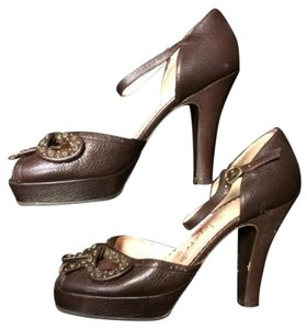 Nanette Lepore Brown Platforms