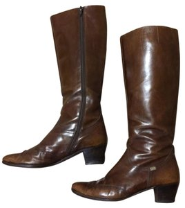 Salvatore Ferragamo Vintage Brown Boots