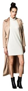 Other Trench Duster Maxi Sateen Jacket Trench Coat