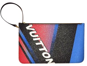 Louis Vuitton Race Neverfull Limited Edition Speedy Clutch