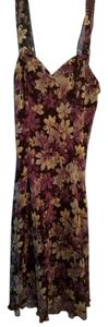 dressbarn Purple Floral Flowy Dress