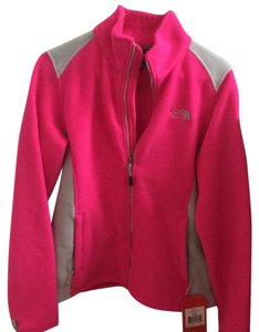 The North Face Fleece Pink White Jacket