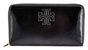 Tory Burch * Tory Burch Charlie Patent Zip Continental Wallet