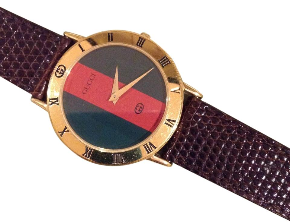 f695385028a Gucci Gucci 3000M Vintage Red and Green Image 0 ...