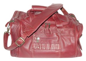 Canyon Outback Co Duffle Gym Cross Body Unisex Oxblood Travel Bag