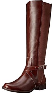 Steven by Steve Madden Wedge Intyce cognac Boots