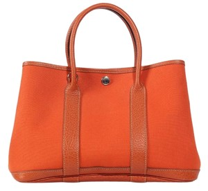 Hermès Hr.k0928.10 Tpm Fabric Leather Tote