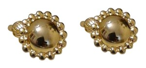 Trifari Beautiful Clip On Earrings