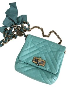 Lanvin Quilted Lambskin Cross Body Bag