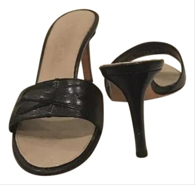 Item - Black Savannah 75 Mules/Slides Size US 7 Regular (M, B)