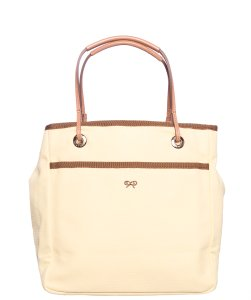 Anya Hindmarch Tote in Pale Yellow