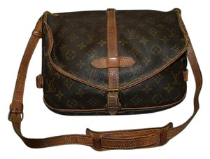 Louis Vuitton Samur Suamur Samuar brown Messenger Bag