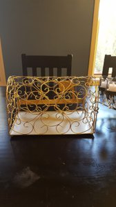 Gold Mailbox Card Holder