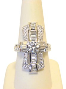 Other Xavier 2.48ctw Absolute Baguette and Pave Ring