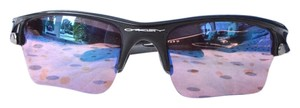 Oakley Oakley Fast Jacket Black Square Frame Sunglasses