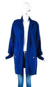 Sonia Rykiel Cobalt Wool Sweater