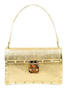 Louis Vuitton Laimable Metallic Boxy Shoulder Bag