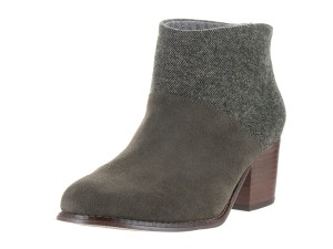 TOMS Leila Tarmac Olive Boots
