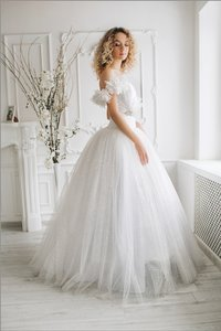Winter Garden (transformer) Wedding Dress