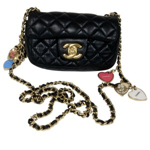 Chanel Cambon 2.55 Lambskin Jumbo Cross Body Bag