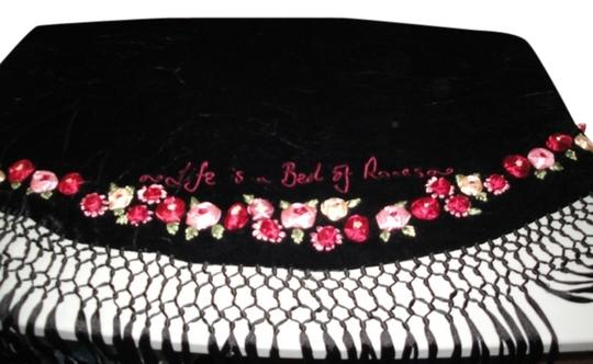 Preload https://img-static.tradesy.com/item/2021131/lulu-guinness-black-background-womens-life-is-a-bed-of-roses-velvet-ribbon-roses-flowers-shawl-scarf-0-0-540-540.jpg