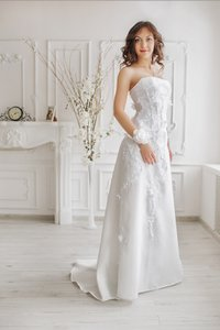 Winter Garden Wedding Dress