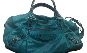 Balenciaga Satchel in Teal