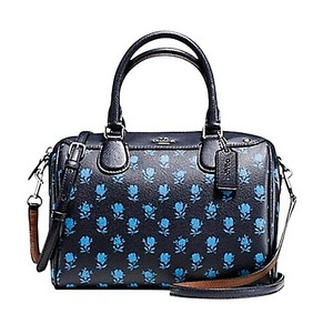 Coach Mini Bennett Crossbody Satchel in Midnight Multi
