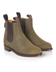 Penelope Chilvers Suede Classic British Peat Boots