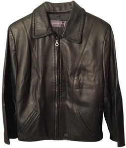Alan Michael Leather Leather Jacket