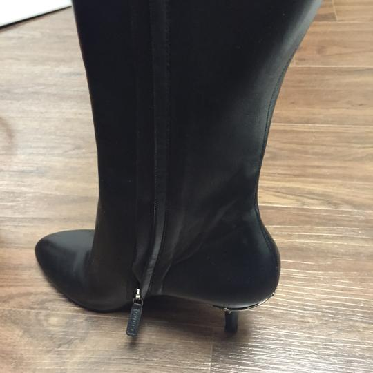Gucci Leather Ysl Louboutin Black Boots