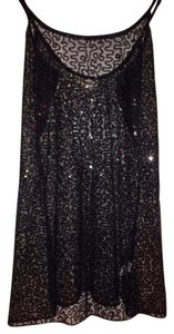 Belle du Jour Sequin Sexy Date Night Little Dress Top Black