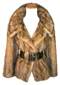 Mink Fur Jacket Fur Coat