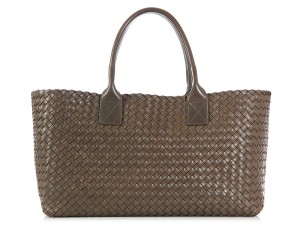 Bottega Veneta Bv.k0824.05 Intrecciato Woven Calfskin Leather Tote