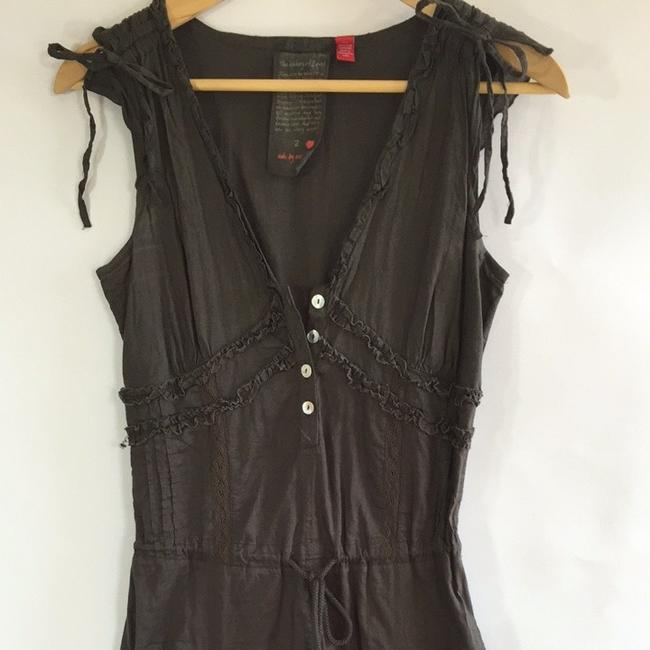Esprit short dress Brown on Tradesy