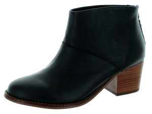 TOMS Leila Black Leather Boots