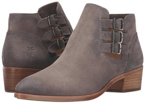 Frye Leather Dark Grey Boots