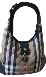 Burberry Nova Check Quilted Shoulder Bag