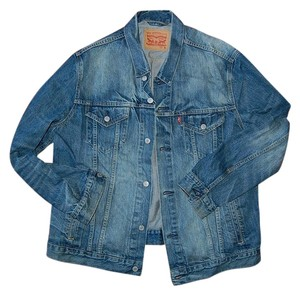 Levi's Stonewash Denim Jean Mens Womens Jean Jacket