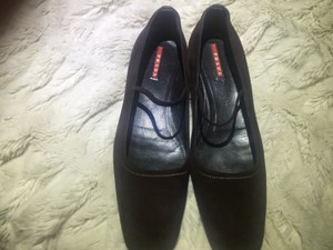 Prada BlackBrown Flats