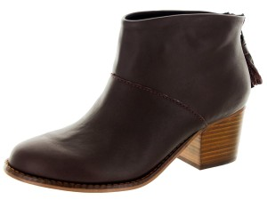 TOMS Leila Oxblood Leather Boots